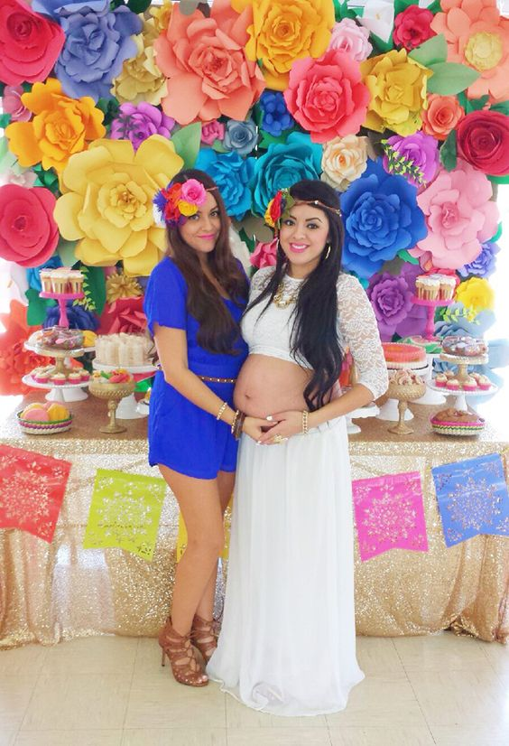 Baby shower estilo mexicano