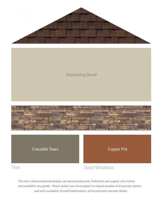 Combinación decolores para fachadas modernas