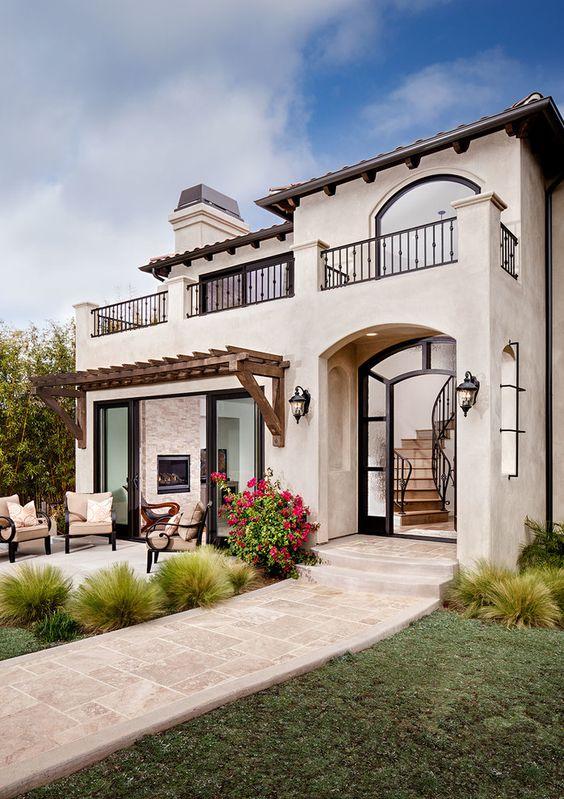 Colores claros para fachadas modernas