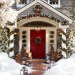 Como decorar entradas esta navidad 2017
