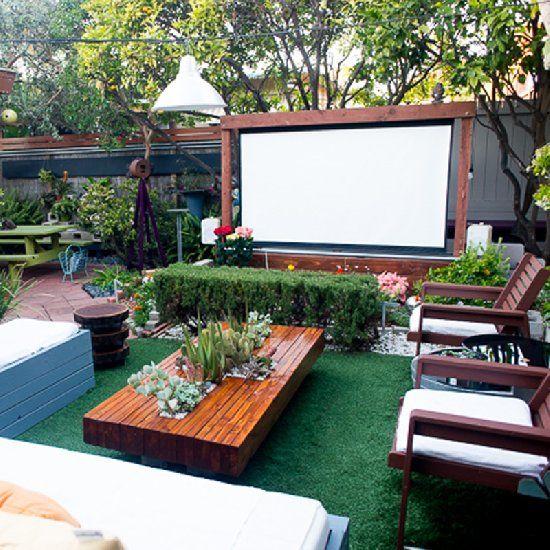 Como decorar un patio trasero moderno