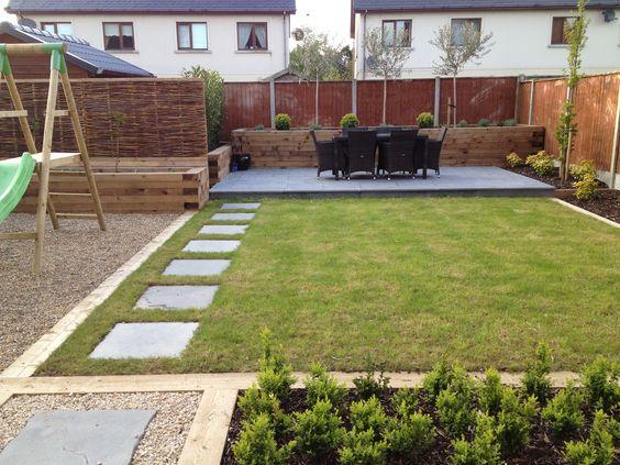 Como decorar un patio trasero moderno for Como decorar mi patio
