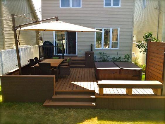 Como decorar un patio trasero moderno - Como decorar mi patio ...