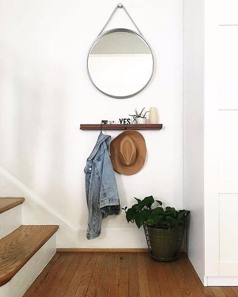 Foyer Minimalist Review : Diseño y decoracion de entradas para casas pequeñas
