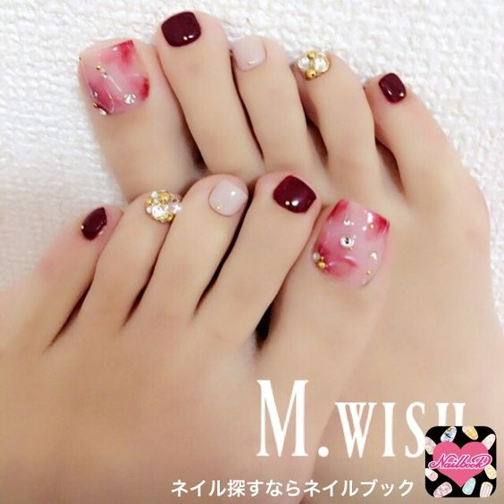 Pedicure 2018 tendencia