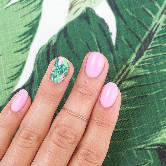 Diseños de uñas para el verano 2019