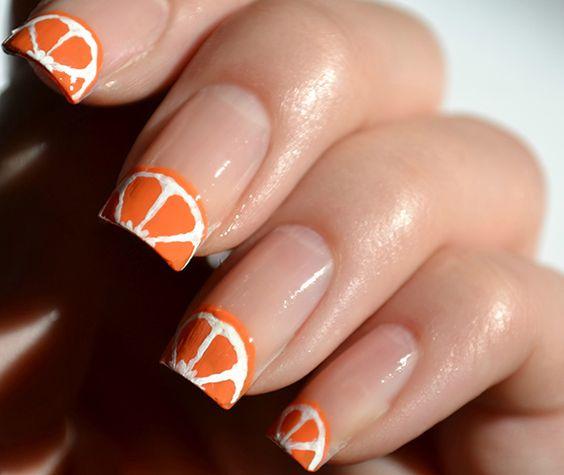 Diseños de uñas para el verano con frutas