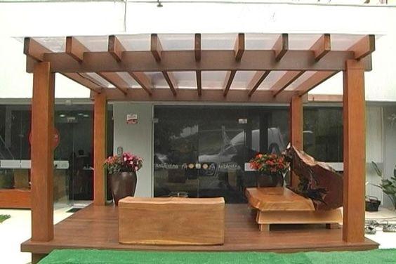 Techos de para patios modern patio outdoor - Ideas para pergolas ...