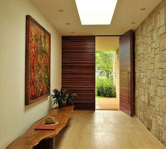 Ideas fabulosas para revestir con piedra las paredes de tu - Paginas de decoracion de casas ...