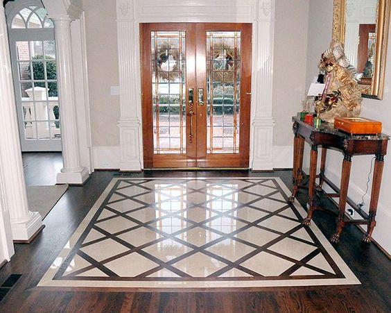 Ideas geniales para renovar el piso de la entrada de tu casa - Ideas para entradas de casa ...