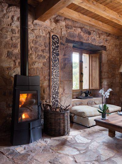 Ideas para darle a tu hogar un toque rustico y sensacional - Decorar habitacion rustica ...
