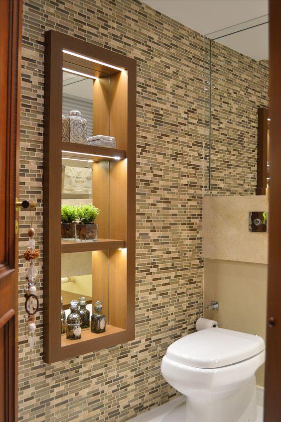 Ideas para decorar la zona de lavabo o lavamanos de tu - Ideas para decorar banos ...
