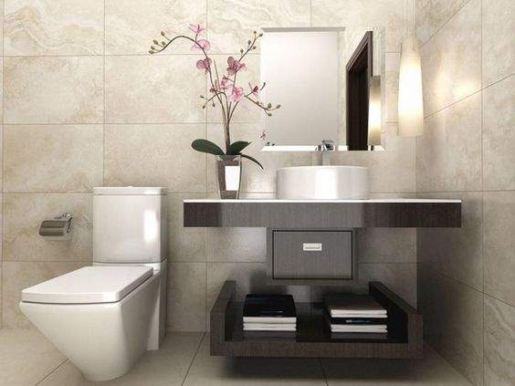 Ideas para decorar la zona de lavabo o lavamanos de tu ba o for Decoracion de lavabos