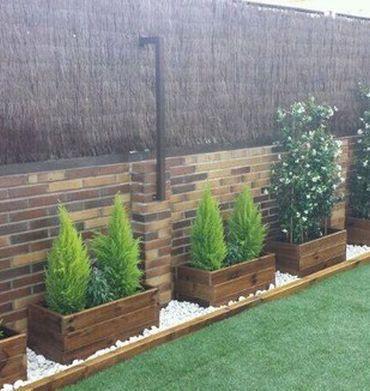 Jardineras para casas pequeñas de madera