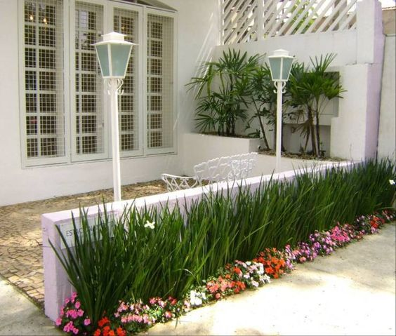 Jardineras para casas pequeñas simples