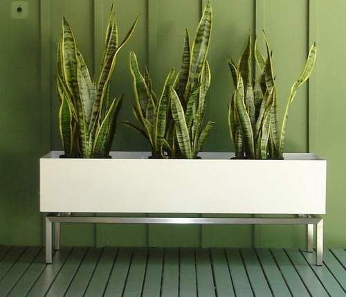 Jardineras que caben perfectamente en espacios pequeños