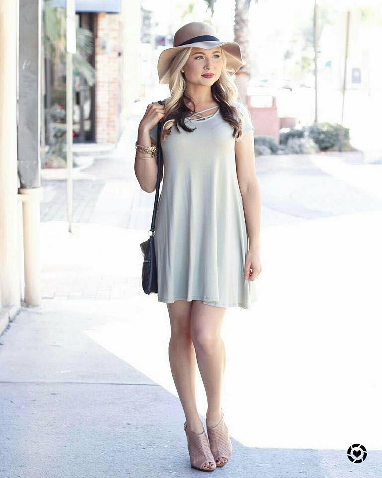 Looks con vestidos para el verano