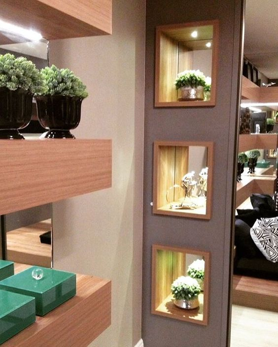 Nichos luminosos para decorar tu casa tendencias 2017 2018 for Decoracion led hogar