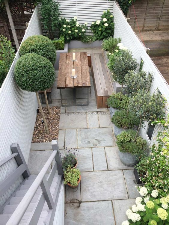 patios sin csped que te harn renovar el tuyo