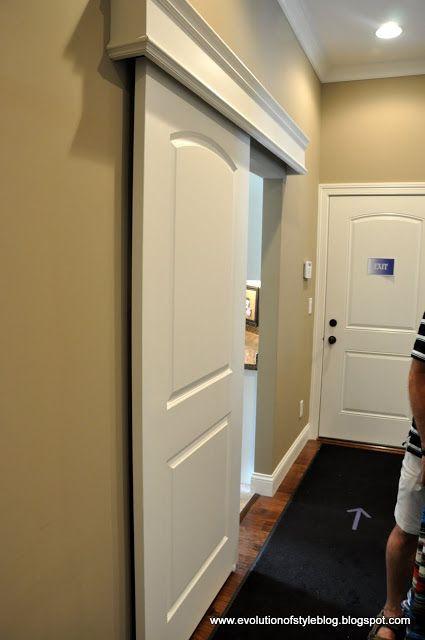 Puertas corredizas que se ver n perfectas en casas peque as for Puertas correderas pequenas