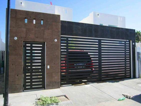 Puertas para cocheras modernas 10 curso de for Cocheras minimalistas