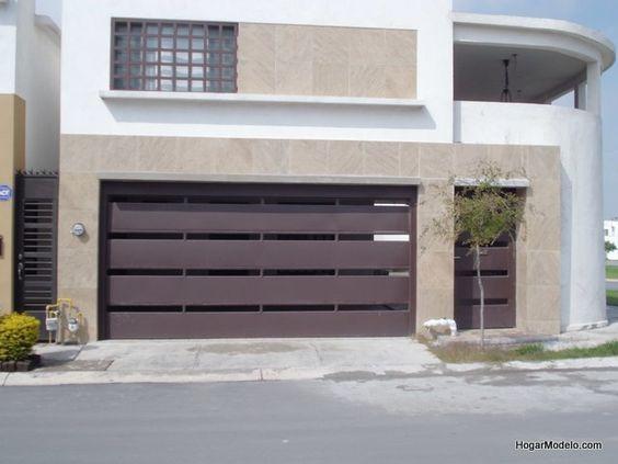 Puertas para cocheras modernas 11 curso de for Cocheras minimalistas
