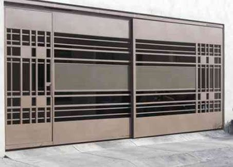 Puertas para cocheras modernas 13 curso de - Puertas de cocheras ...