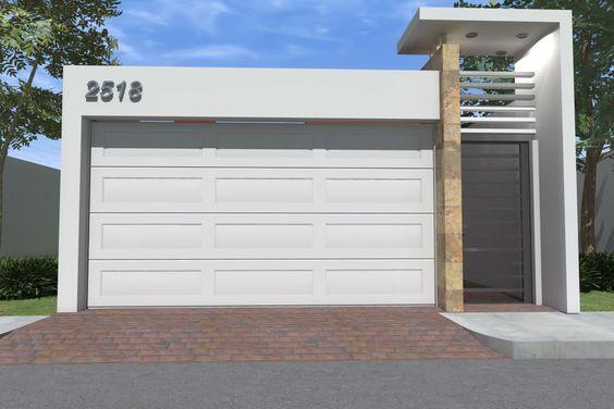 Puertas para cocheras modernas 19 curso de organizacion del hogar y decoracion de interiores - Puertas de cochera ...