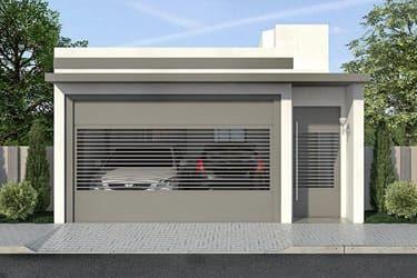 Puertas para cocheras modernas 21 curso de organizacion del hogar y decoracion de interiores - Puertas de cochera ...