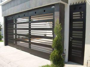 Puertas para cocheras modernas