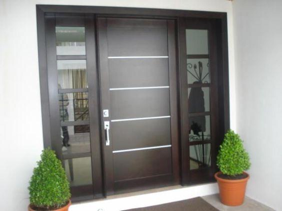 Puertas principales para casas modernas 11 curso de for Puertas de entrada de casas modernas