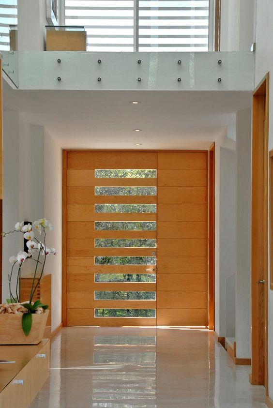 Puertas principales para casas modernas 17 curso de - Puertas de casas modernas ...