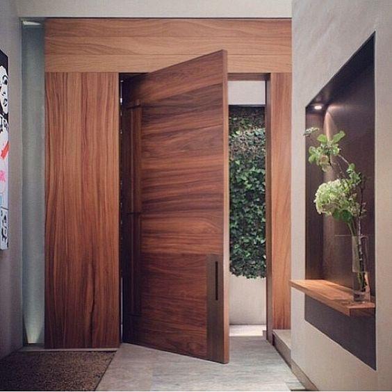 Puertas principales para casas modernas 20 curso de for Puertas de entrada de casas modernas