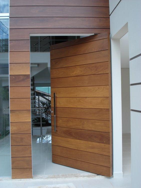 Puertas principales para casas modernas 9 curso de for Puertas en casas modernas