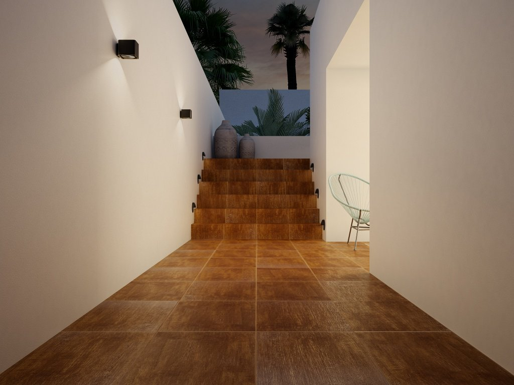 Piso para interiores imitación madera