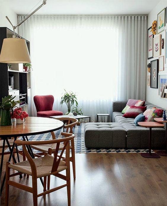 Como decorar un apartamento peque o y aprovechar todos los for Como decorar un apartamento