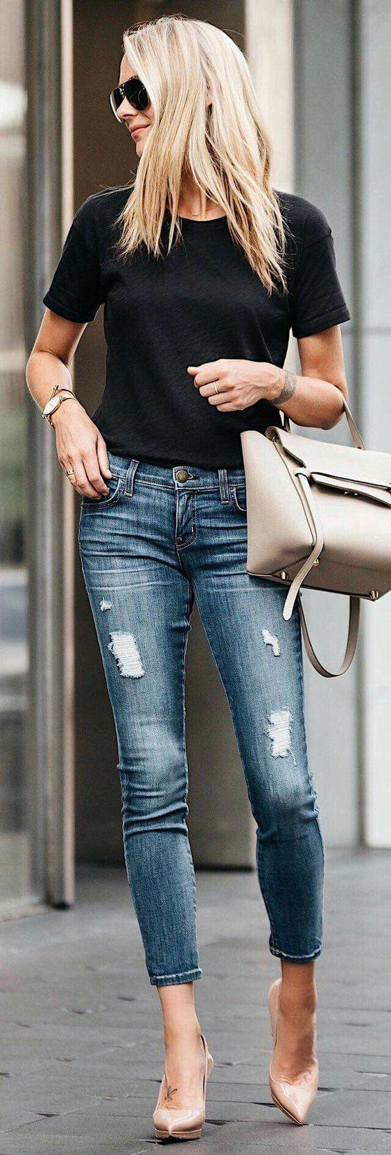 Trucos de moda para lucir más alta