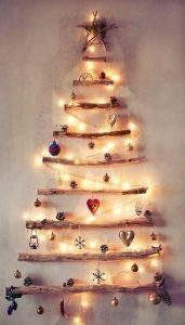 12 alternativas de árboles de navidad