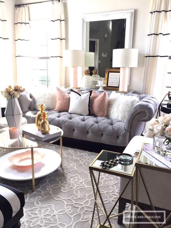 16 ideas para decorar salas peque as curso de for Como decorar una sala larga y angosta