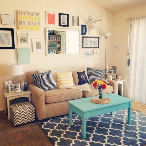 7 Apartment Decorating And Small Living Room Ideas: Decoración De Salas Pequeñas