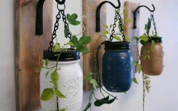 18 estupendas ideas para colgar tus plantas