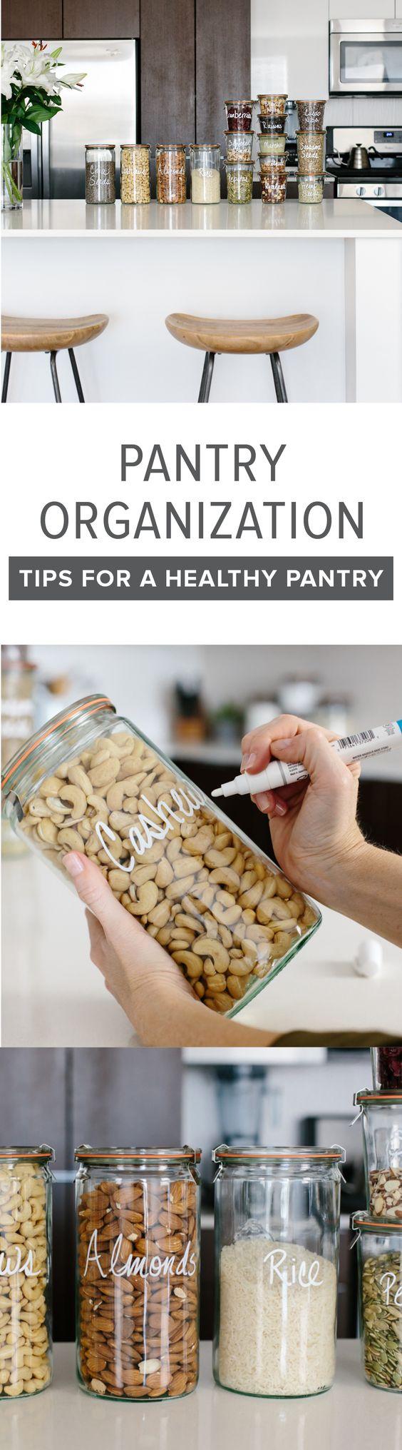 26 ideas de organizacion para alacenas