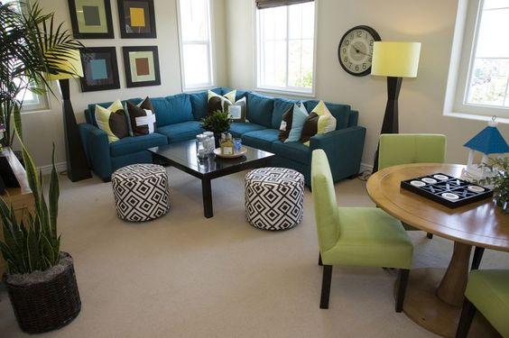 Como decorar sala y comedor juntos