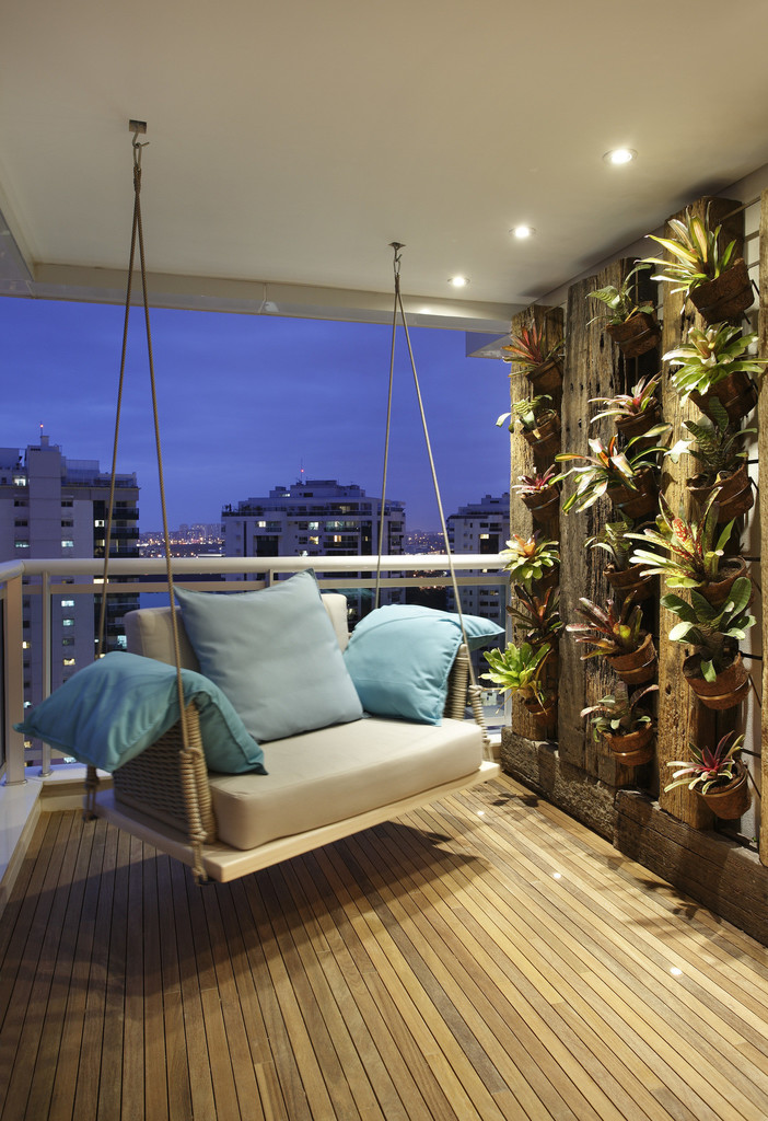 Balcones modernos 2018 1 tendencias para decorar for Terrazas interiores