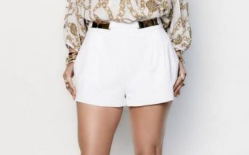 ¡Una linda Manera de Llevar Shorts a los 40!