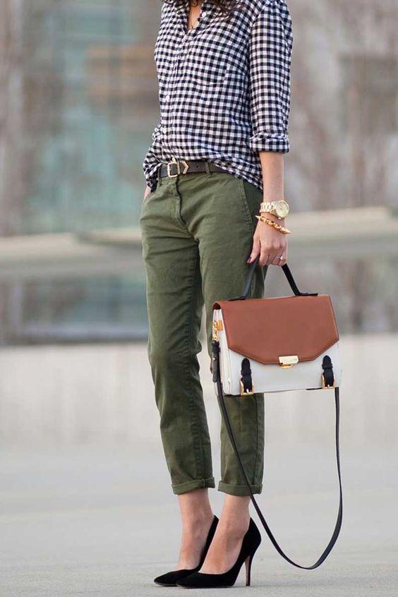Looks con Pantalones de Color o Estampados