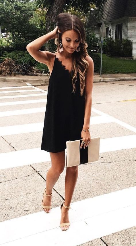 Outfit color negro