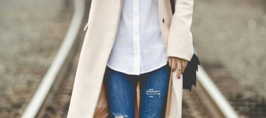¡¡Outfits Con Jeans y Blusas Blancas!!