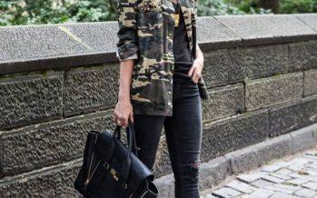¡¡Outfits con Ropa Camuflajeada!!…. En tendencia Total