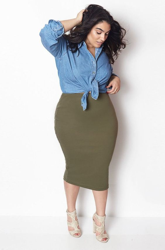 11 Outfits para Mujeres con curvas Grandes